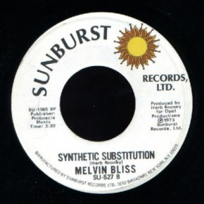 Melvin Bliss - Reward/Synthetic Substitution (1973)
