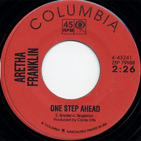 Aretha Franklin - One Step Ahead/I Can't Wait Until My Baby's Back (1965)