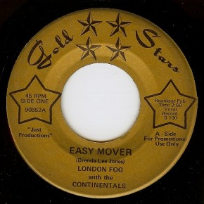 London Fog with the Continentals - Easy Mover / Trippin (1969)