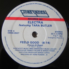 Friday Kitsch Cool # 17 : Electra feat. Tara Butler - Feels Good (Carrots and Beets)