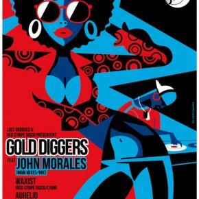 2x2 places à gagner pour la soirée Gold Diggers @Djoon