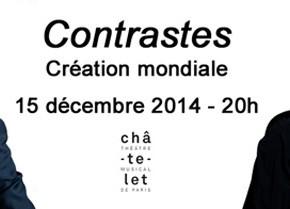 2 places à gagner pour Richard Galliano & Henri Demarquette au Théâtre du Châtelet