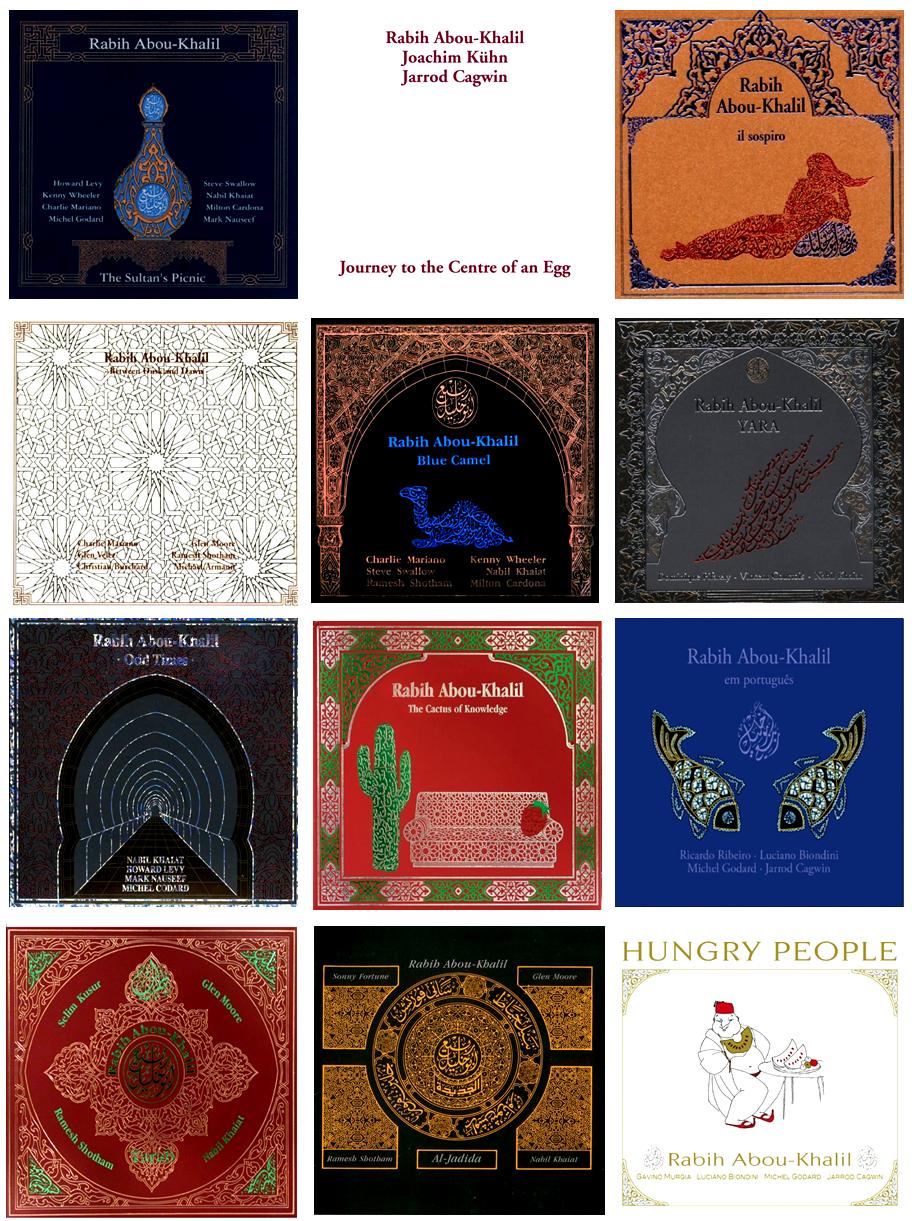 albums rabih abou khalil